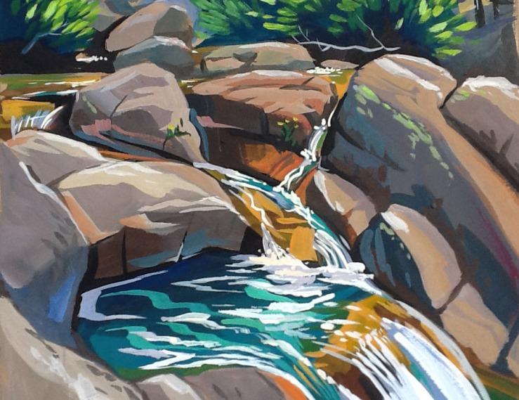 San Joaquin Lower Falls