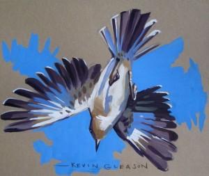 Diving Mockingbird