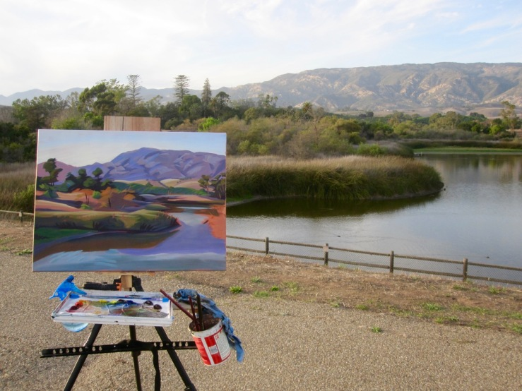 Lake Los Carneros - 1