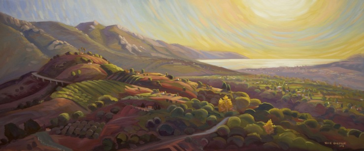 San Marcos Foothills-- 20x48""
