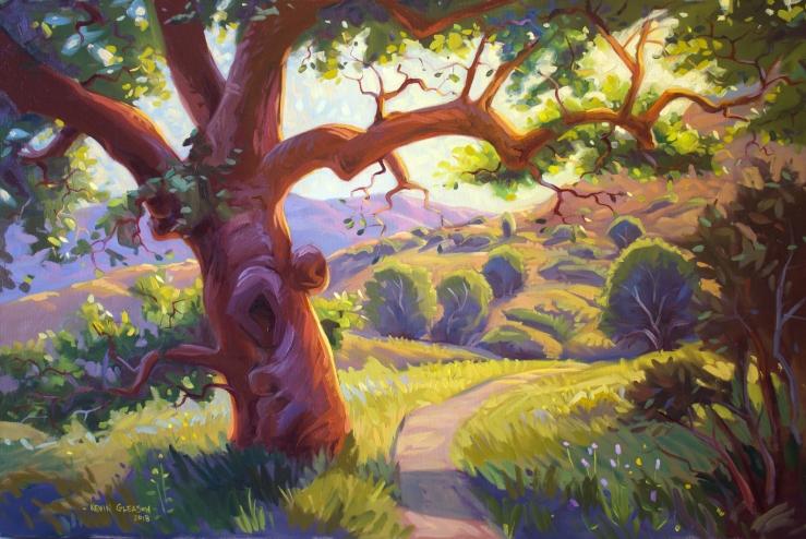 """Tree of Light-- 24x36"""""""