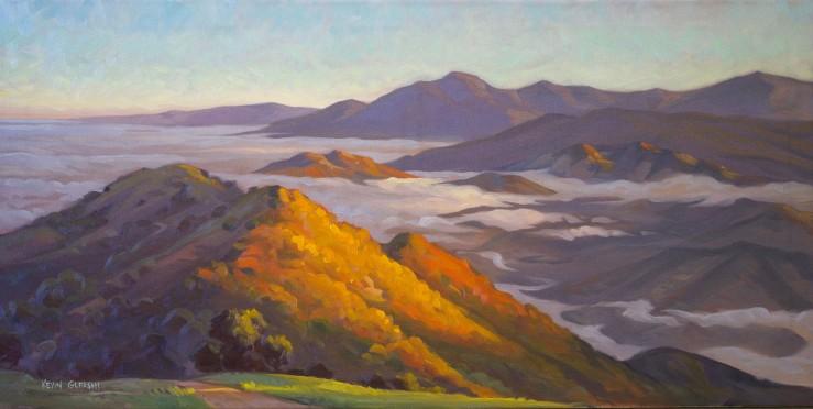 """Sea of Clouds-- Camino Cielo-- 18x36"""""""