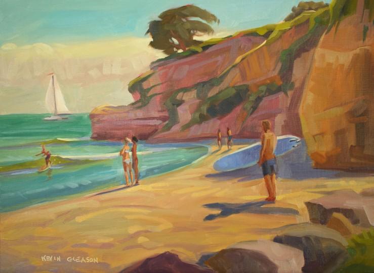"Ledbetter Surf--12x16"""