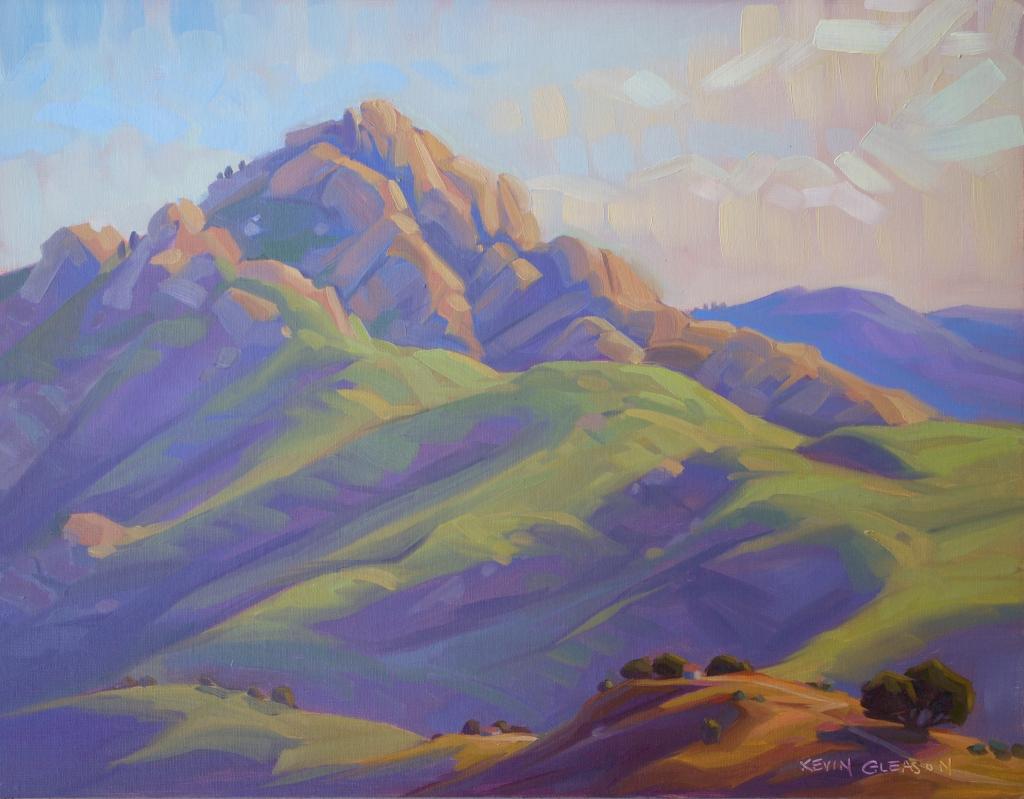 """Arlington Peak Dawn-- 14x18"""""""
