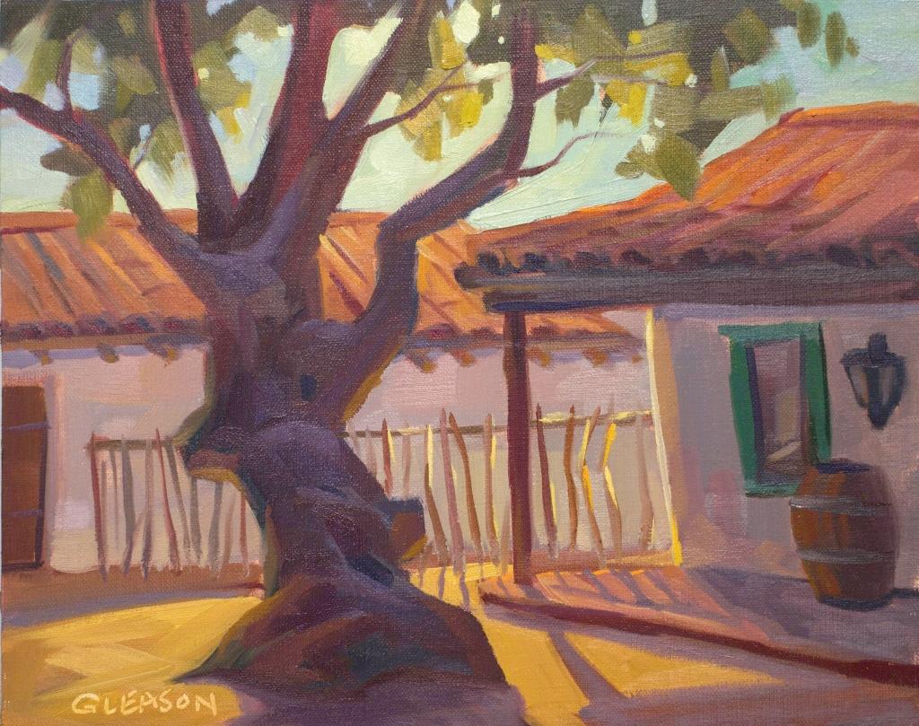 """El Presidio Shadows--8x10"""""""
